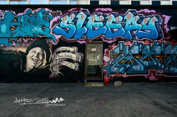 Sleepy Graffiti