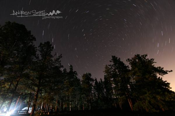 Meadows Campground Star Trails