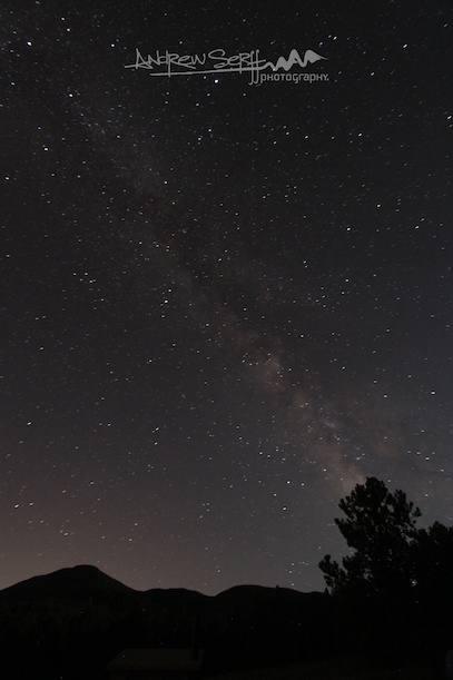 Milky Way in Buffalo Creek
