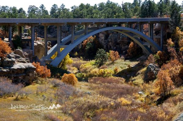 Castlewood Canyon Bridge