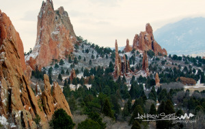 Another White Christmas at Garden of the Gods