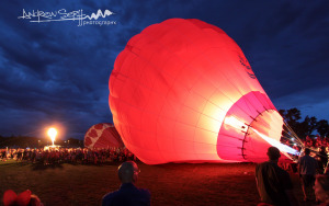 Balloon Glow Ignition